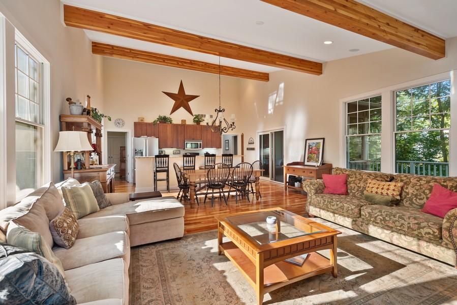 Real Estate Photography - 27 Orchard Lane, Buchanan, MI, 49107 - Kitchen/Living