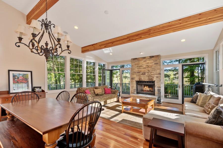 Real Estate Photography - 27 Orchard Lane, Buchanan, MI, 49107 - Living Room/Dining Room