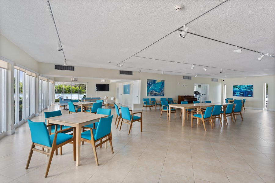 Real Estate Photography - 1170 N FEDERAL HWY, #509, FT LAUDERDALE, FL, 33304 - CLUBHOUSE & FITNESS CENTER