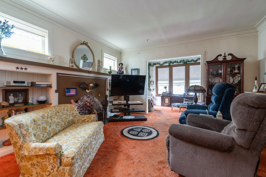 Real Estate Photography - 12631 Greenwood Avenue, Blue Island, IL, 60406 - Living Room