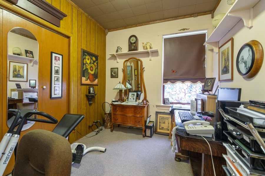 Real Estate Photography - 12631 Greenwood Avenue, Blue Island, IL, 60406 - 3rd Bedroom