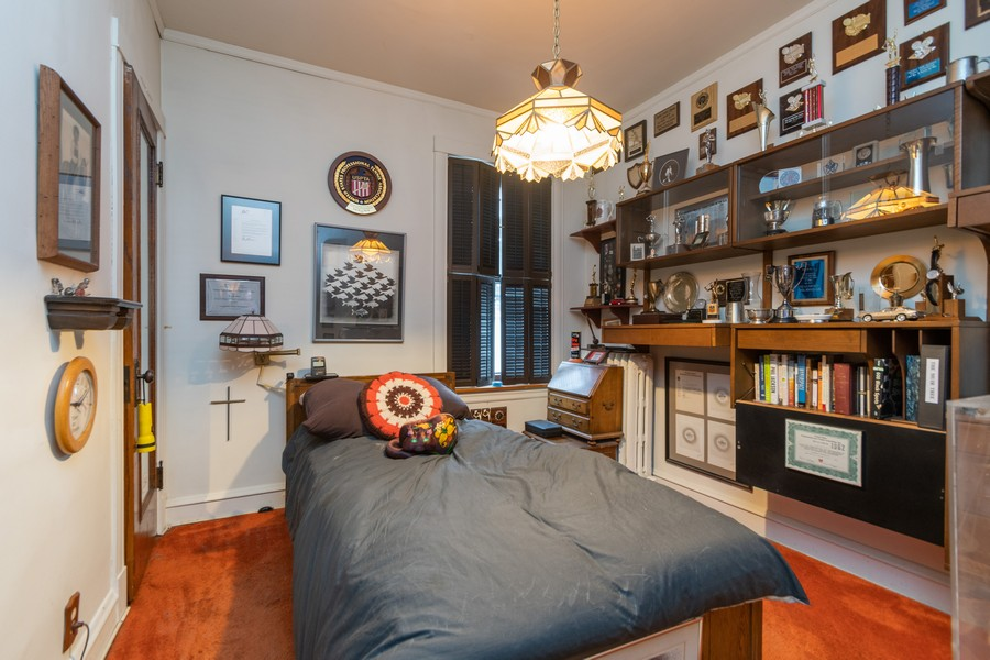 Real Estate Photography - 12631 Greenwood Avenue, Blue Island, IL, 60406 - Bedroom