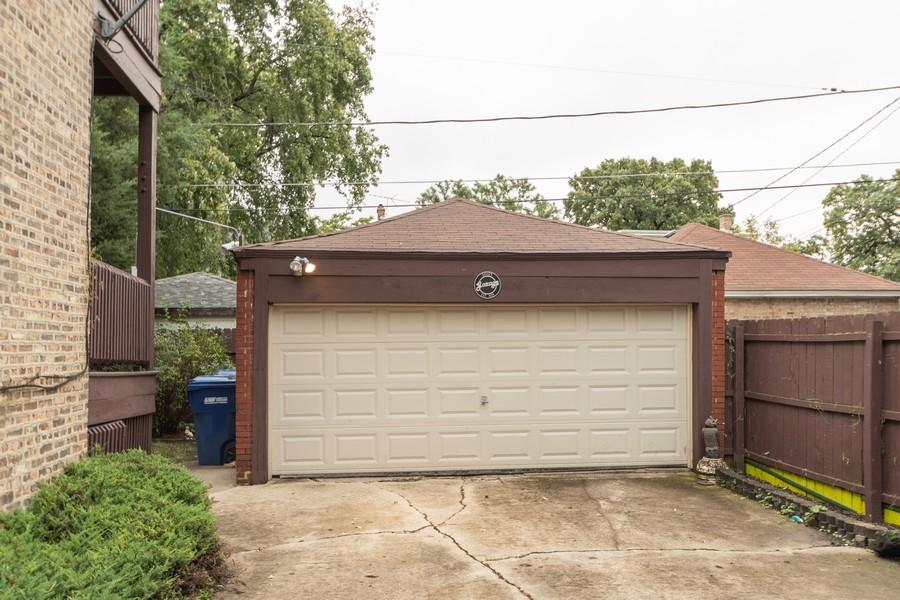 Real Estate Photography - 12631 Greenwood Avenue, Blue Island, IL, 60406 - Garage