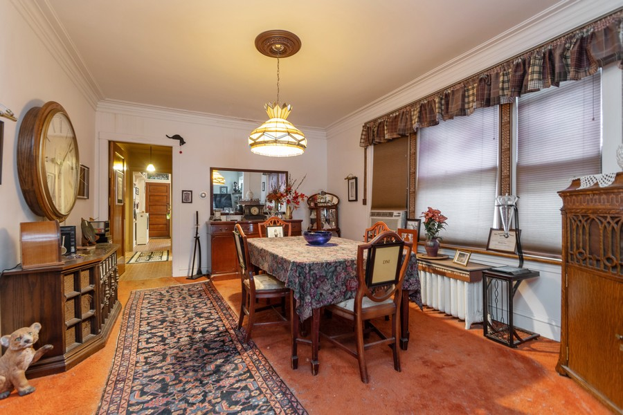 Real Estate Photography - 12631 Greenwood Avenue, Blue Island, IL, 60406 - Dining Room