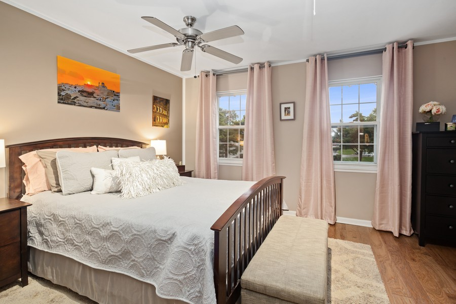 Real Estate Photography - 1379 westminster circle, roselle, IL, 60172 - Master Bedroom