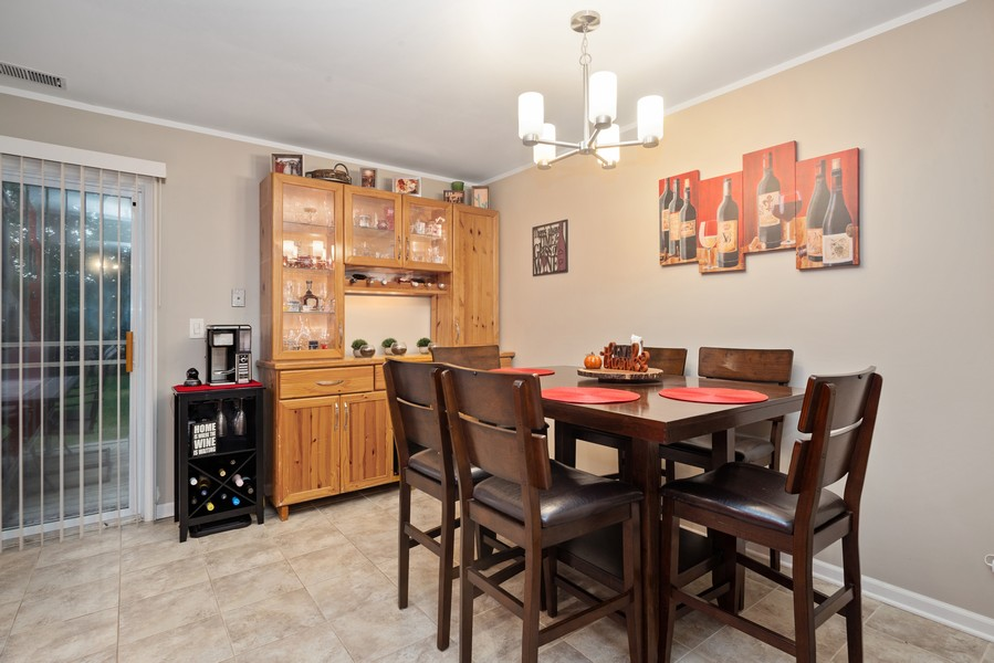 Real Estate Photography - 1379 westminster circle, roselle, IL, 60172 - Dining Room