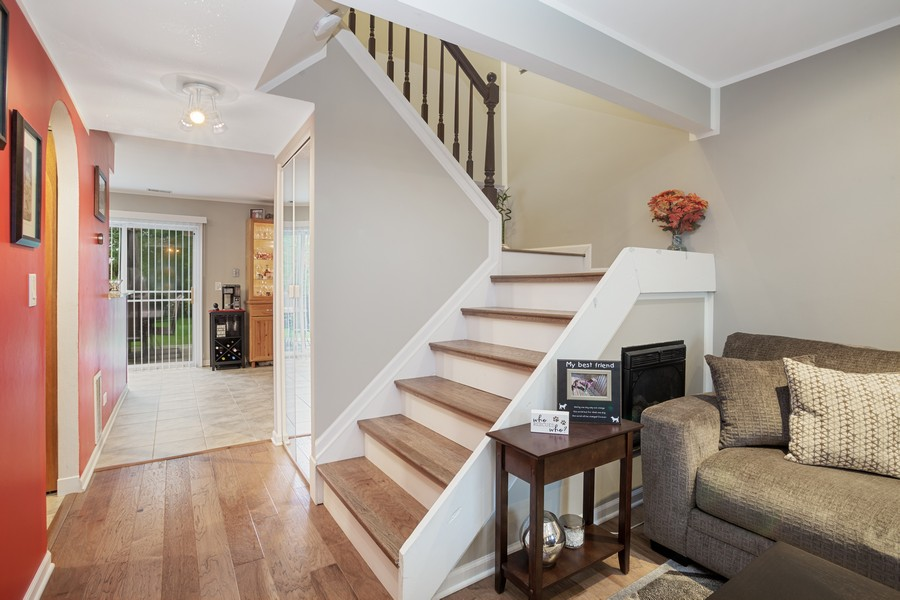 Real Estate Photography - 1379 westminster circle, roselle, IL, 60172 - Staircase