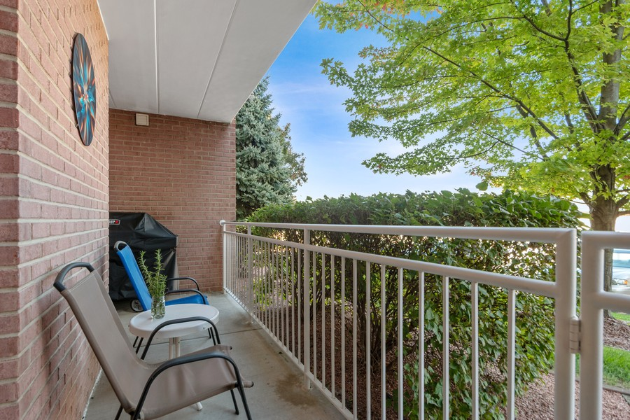 Real Estate Photography - 11545 Settlers Pond Way, Unit 1A, Orland Park, IL, 60467 - Patio