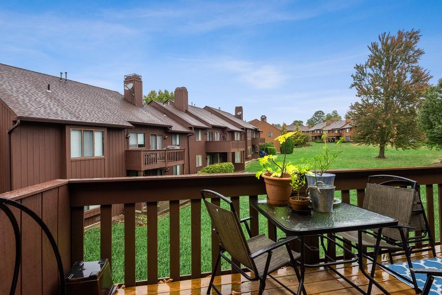 Real Estate Photography - 722 Panorama Drive, Mohegan Lake, NY, 10547 - VIEW TO COURTYARD