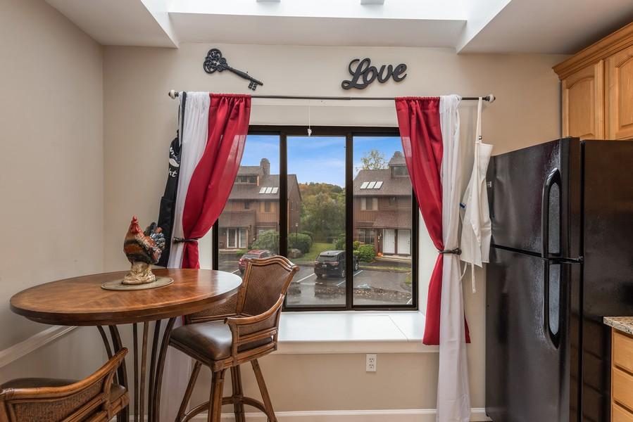 Real Estate Photography - 722 Panorama Drive, Mohegan Lake, NY, 10547 - LAKE VIEWS FROM KITCHEN