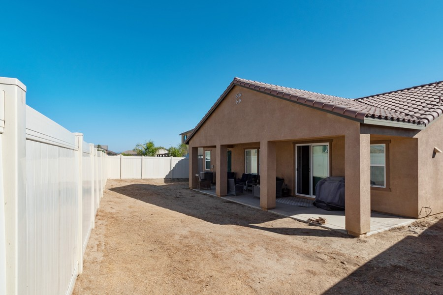 Real Estate Photography - 25499 Rocking Horse Ct, Menifee, CA, 92584 - Back Yard