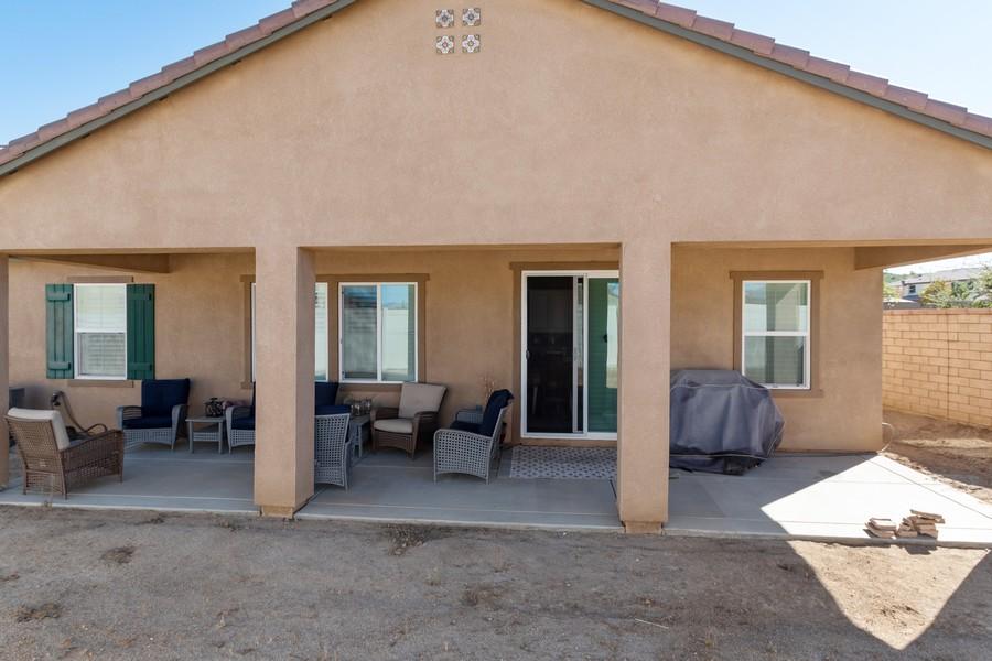 Real Estate Photography - 25499 Rocking Horse Ct, Menifee, CA, 92584 - Patio
