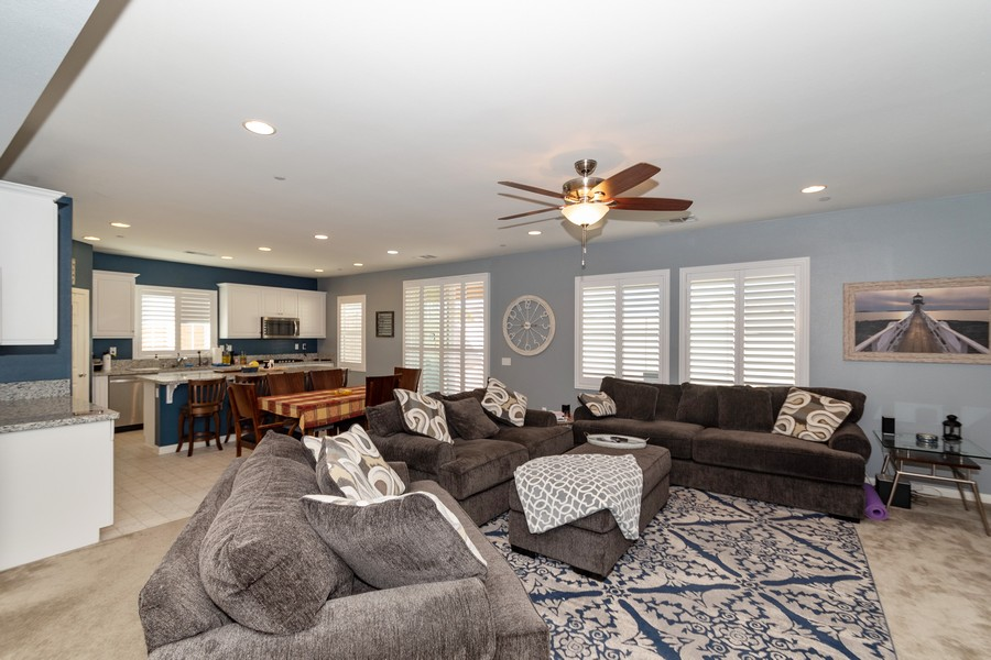 Real Estate Photography - 25499 Rocking Horse Ct, Menifee, CA, 92584 - Living Room / Dining Room