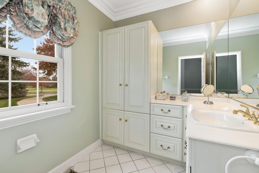 Real Estate Photography - 17199 Yearing Lane, Wadsworth, IL, 60083 - Master Bathroom
