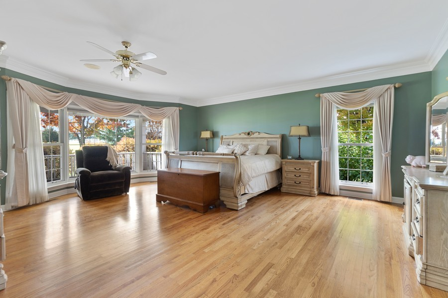 Real Estate Photography - 17199 Yearing Lane, Wadsworth, IL, 60083 - Master Bedroom