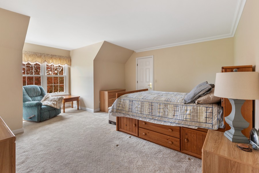 Real Estate Photography - 17199 Yearing Lane, Wadsworth, IL, 60083 - 2nd Bedroom
