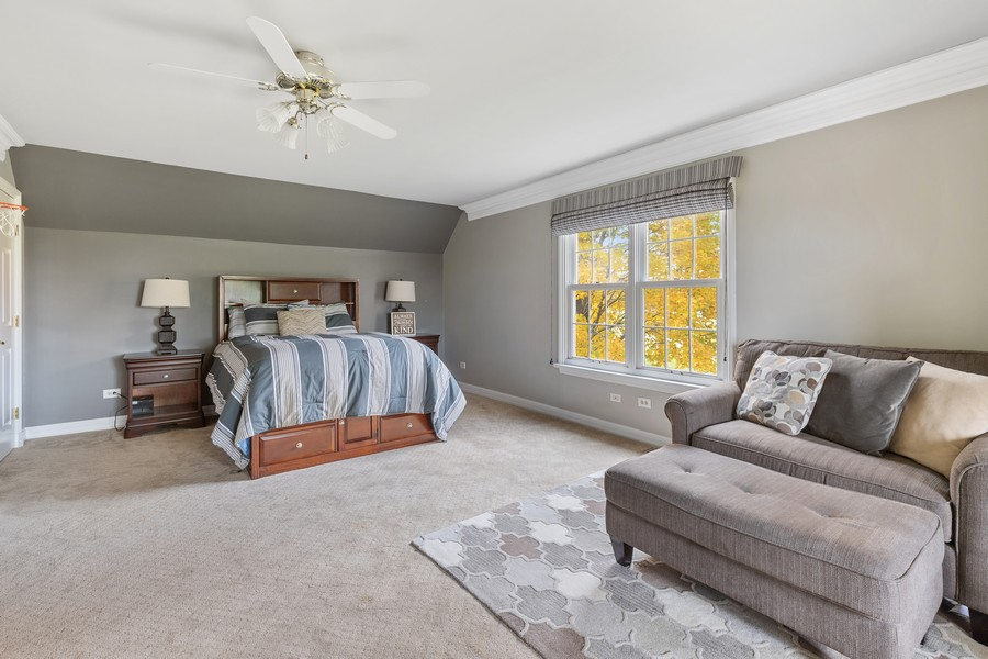 Real Estate Photography - 17199 Yearing Lane, Wadsworth, IL, 60083 - 3rd Bedroom