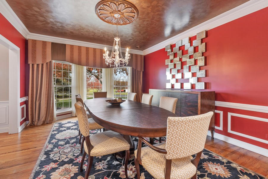 Real Estate Photography - 17199 Yearing Lane, Wadsworth, IL, 60083 - Dining Room