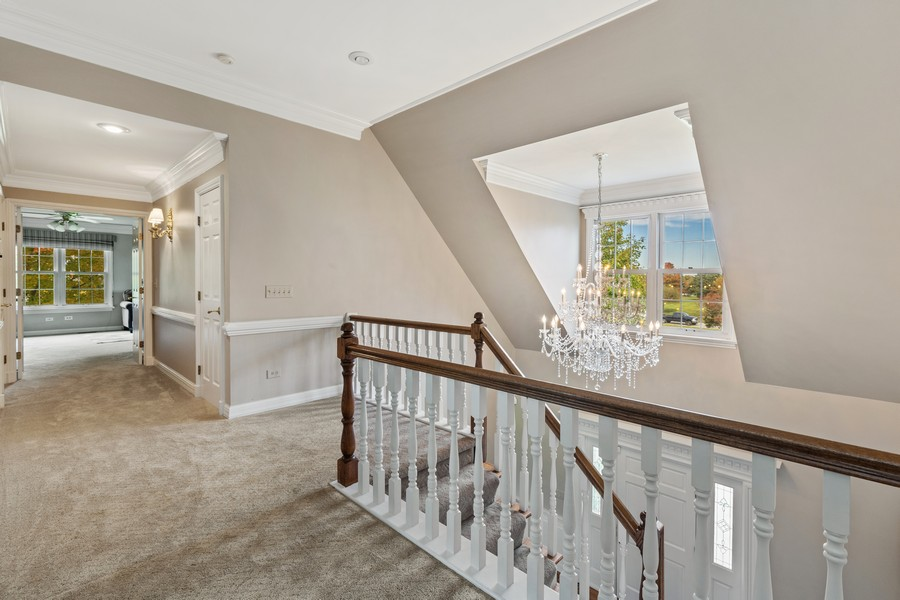 Real Estate Photography - 17199 Yearing Lane, Wadsworth, IL, 60083 - Hallway
