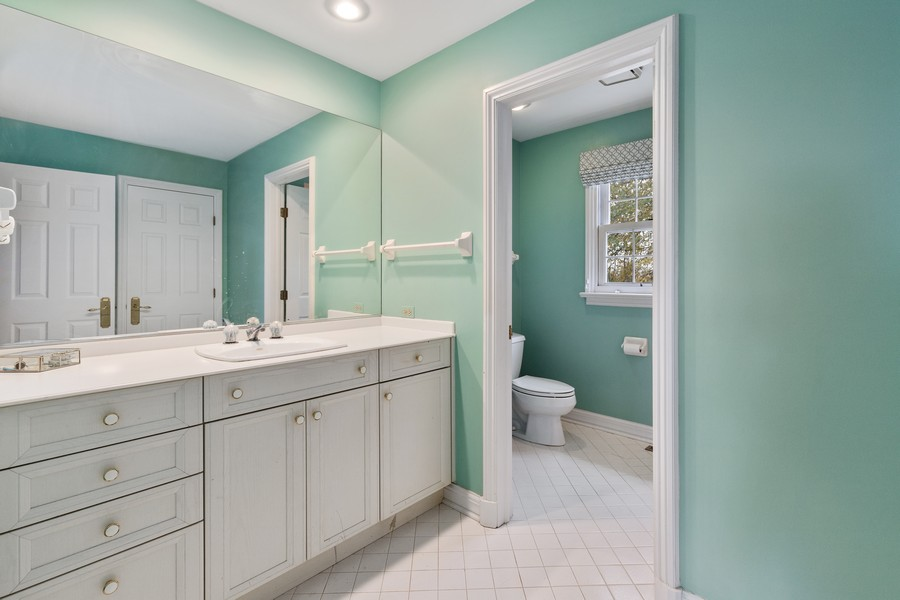 Real Estate Photography - 17199 Yearing Lane, Wadsworth, IL, 60083 - Bathroom