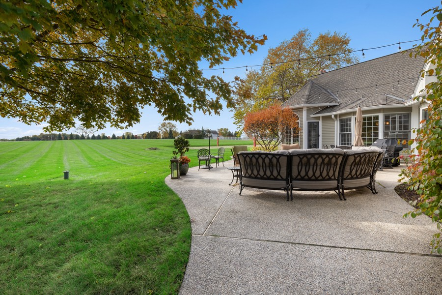 Real Estate Photography - 17199 Yearing Lane, Wadsworth, IL, 60083 - Patio