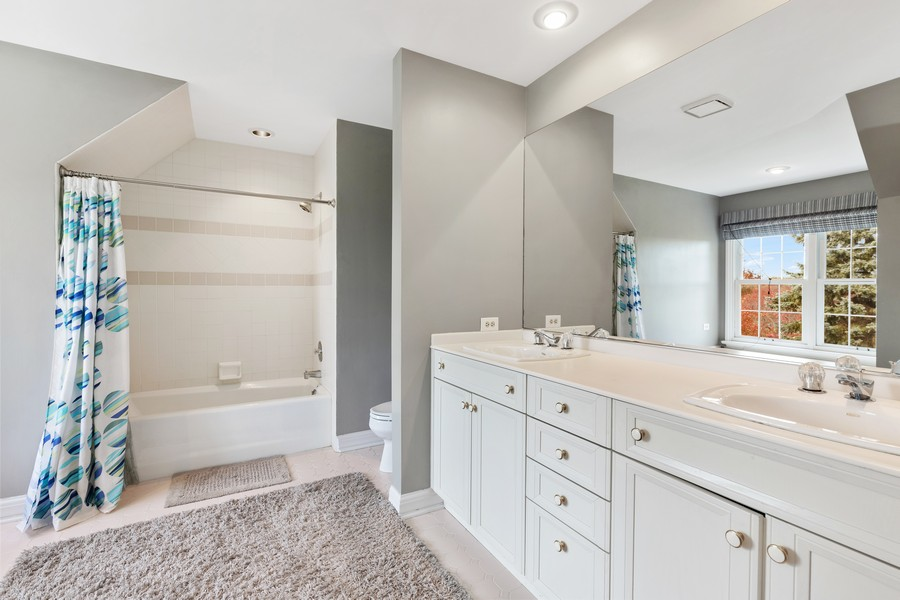 Real Estate Photography - 17199 Yearing Lane, Wadsworth, IL, 60083 - 2nd Bathroom