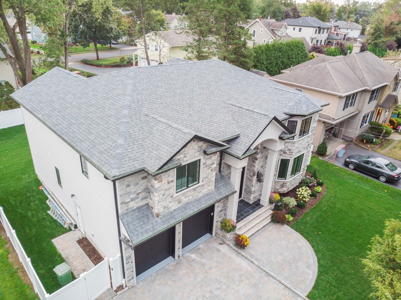 Real Estate Photography - 250 Hoppers lane, Paramus, NJ, 07652 - Aerial View