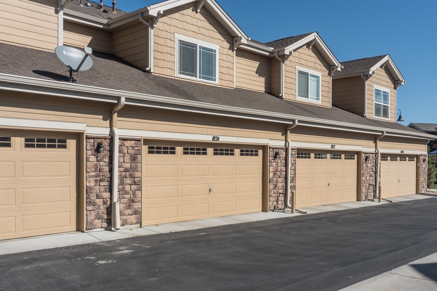 Real Estate Photography - 1824 S Buchanan Cir, Aurora, CO, 80018 - Garage