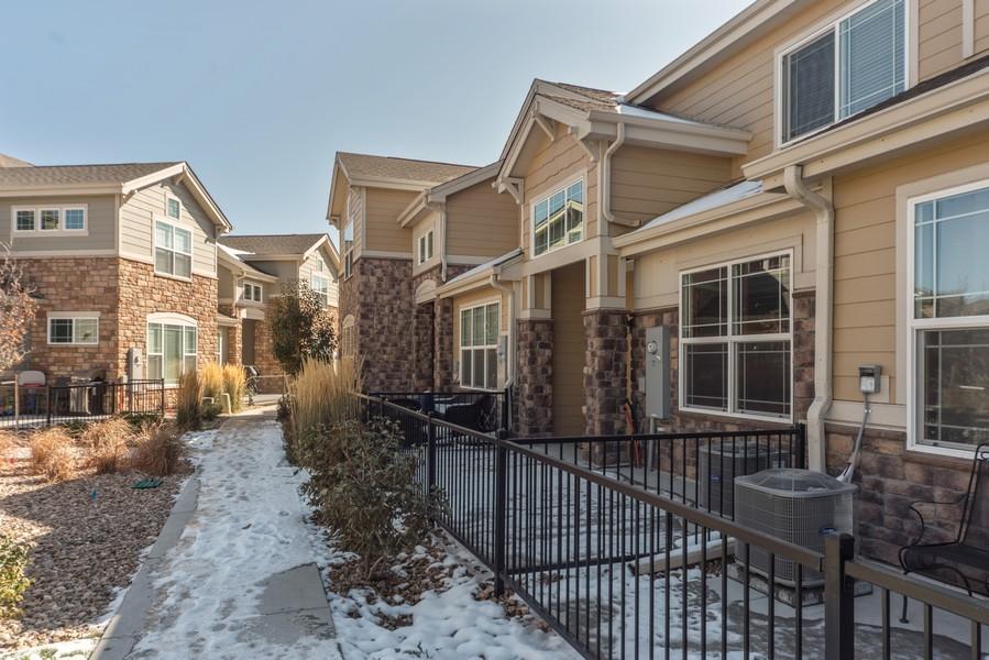 Real Estate Photography - 1824 S Buchanan Cir, Aurora, CO, 80018 - Patio