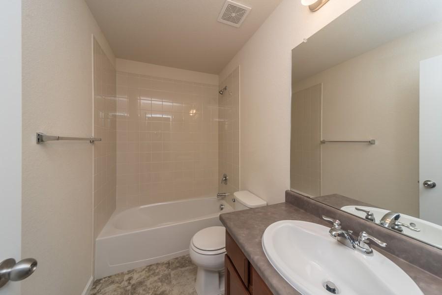 Real Estate Photography - 1824 S Buchanan Cir, Aurora, CO, 80018 - 2nd Bathroom