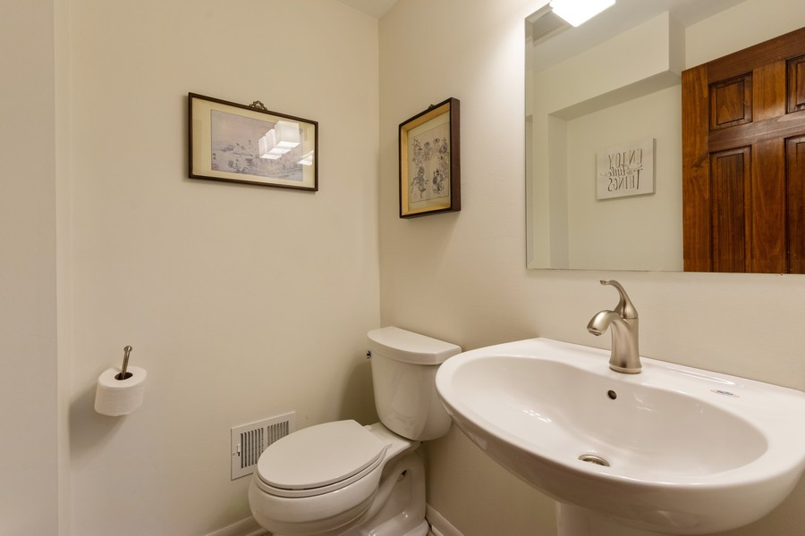Real Estate Photography - 306 E. Clarendon, Arlington Heights, IL, 60004 - Powder Room