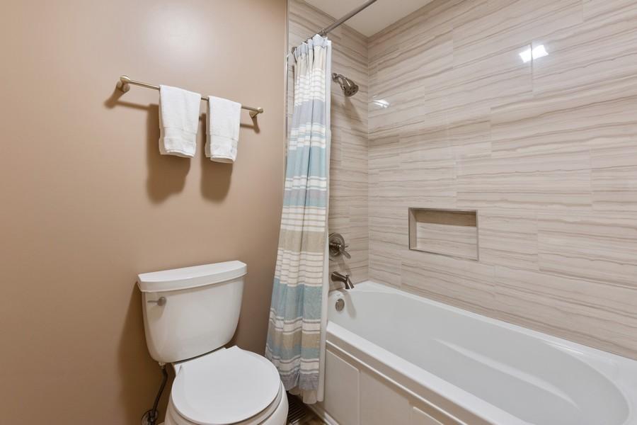 Real Estate Photography - 306 E. Clarendon, Arlington Heights, IL, 60004 - 2nd Bathroom