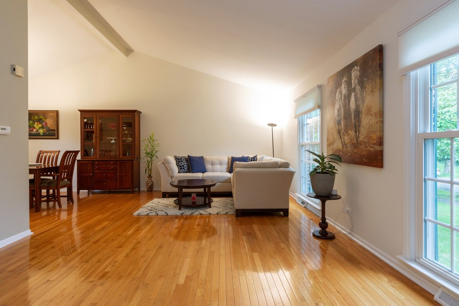Real Estate Photography - 306 E. Clarendon, Arlington Heights, IL, 60004 - Living Room / Dining Room