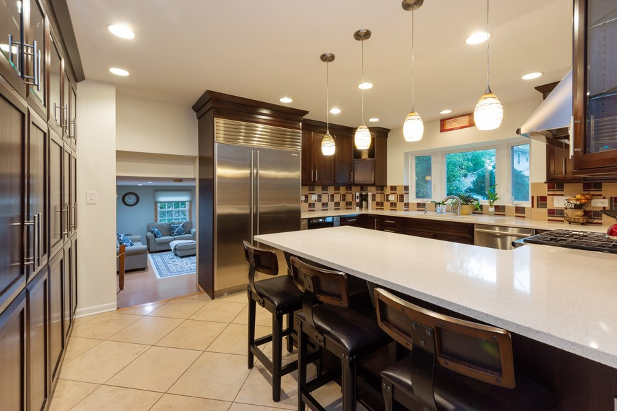 Real Estate Photography - 306 E. Clarendon, Arlington Heights, IL, 60004 - Family Room / Kitchen
