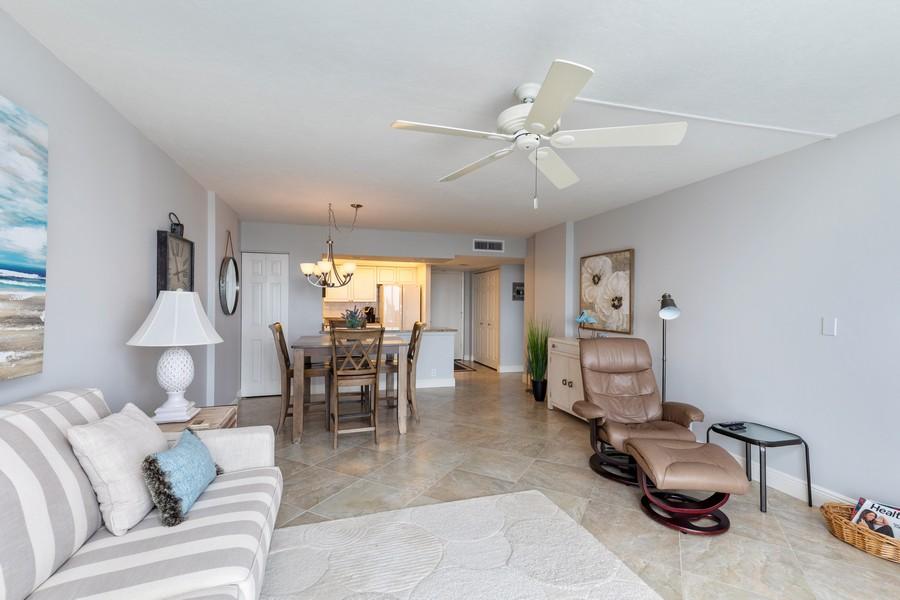 Real Estate Photography - 3 Bluebill Ave Unit 812, Naples, FL, 34108 - Living Room