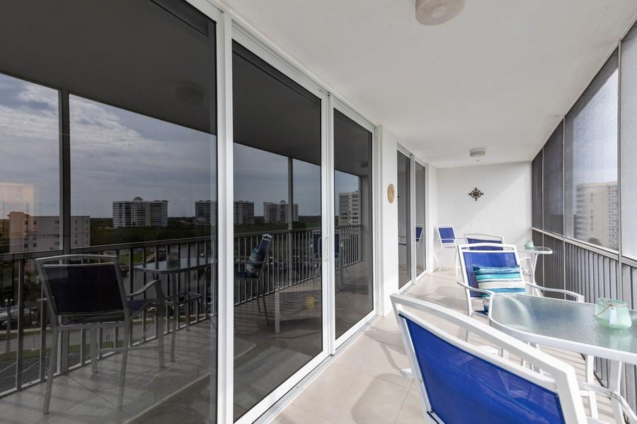 Real Estate Photography - 3 Bluebill Ave Unit 812, Naples, FL, 34108 - Lanai