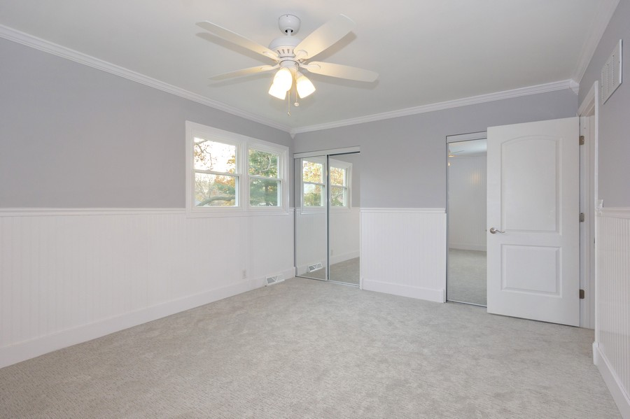 Real Estate Photography - 409 Shady Ln, Shorewood, IL, 60404 - Master Bedroom