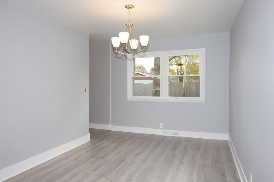 Real Estate Photography - 409 Shady Ln, Shorewood, IL, 60404 - Dining Room