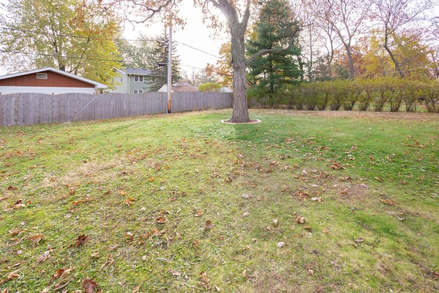Real Estate Photography - 409 Shady Ln, Shorewood, IL, 60404 - Back Yard