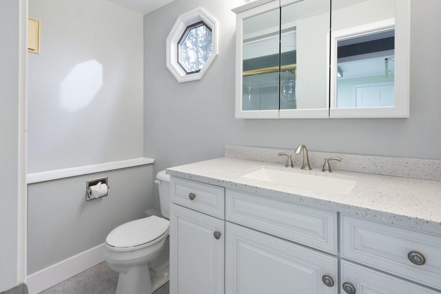 Real Estate Photography - 409 Shady Ln, Shorewood, IL, 60404 - Bathroom