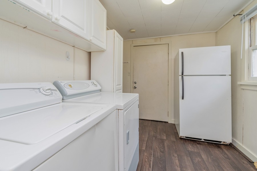 Real Estate Photography - 116 Southwest Circle Dr, Joliet, IL, 60433 - Laundry Room