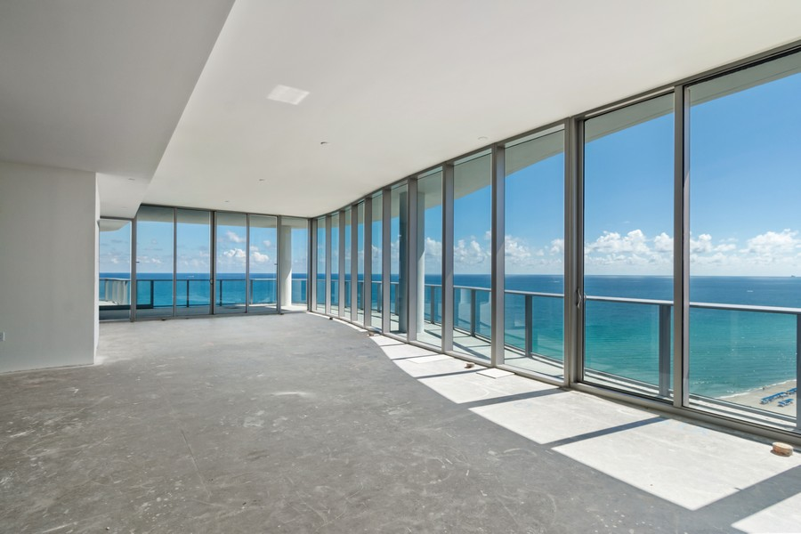 Real Estate Photography - 17475 Collins Ave, Unit 1501, Sunny Isles Beach, FL, 33160 - Great Room