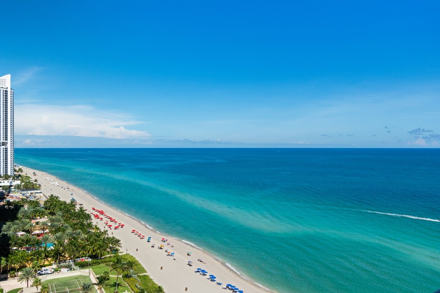 Real Estate Photography - 17475 Collins Ave, Unit 1501, Sunny Isles Beach, FL, 33160 - North View