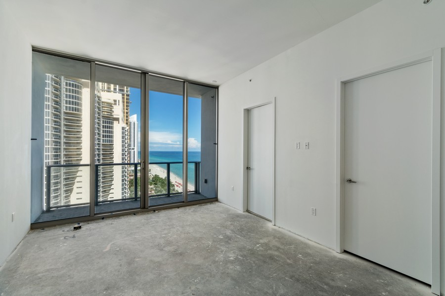Real Estate Photography - 17475 Collins Ave, Unit 1501, Sunny Isles Beach, FL, 33160 - 3rd Bedroom