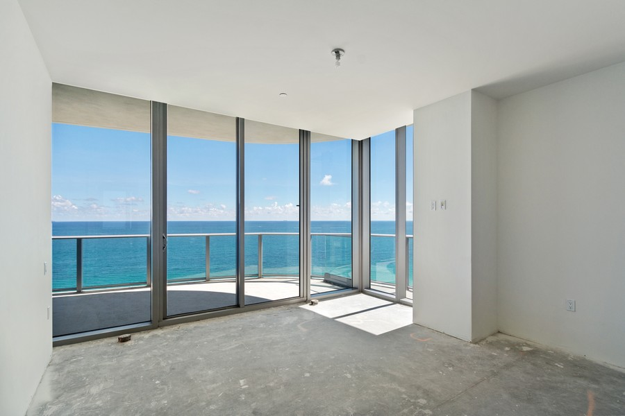 Real Estate Photography - 17475 Collins Ave, Unit 1501, Sunny Isles Beach, FL, 33160 - 2nd Bedroom
