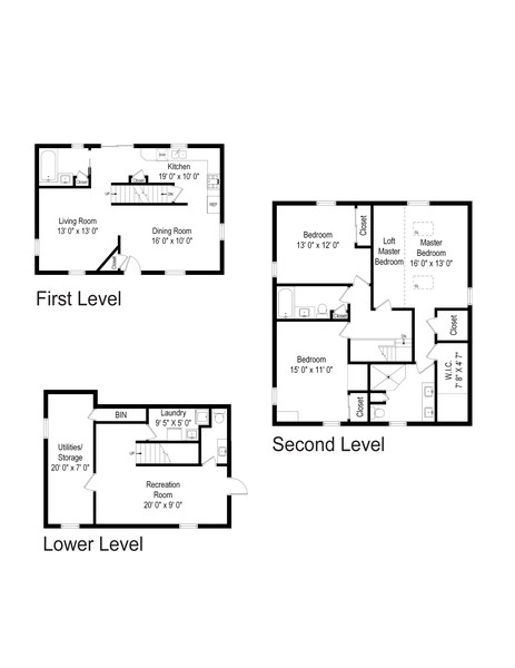Real Estate Photography - 28 Longview Trail, Denville, NJ, 07834 - Floor Plan