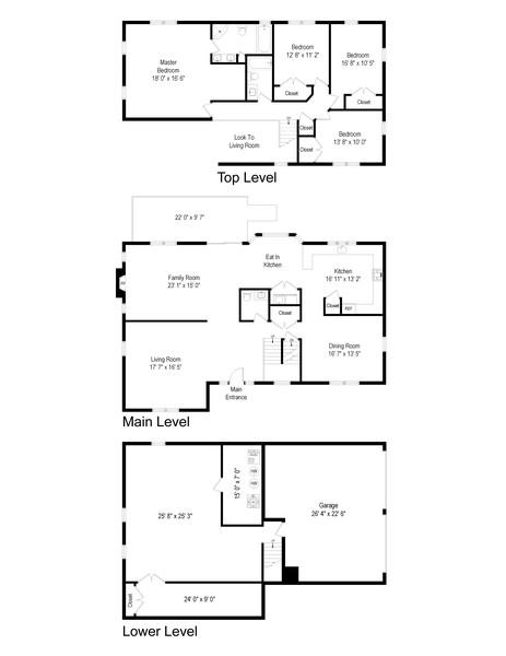 Real Estate Photography - 5 Sugarbush Court, Carmel, NY, 10541 - Floor Plan