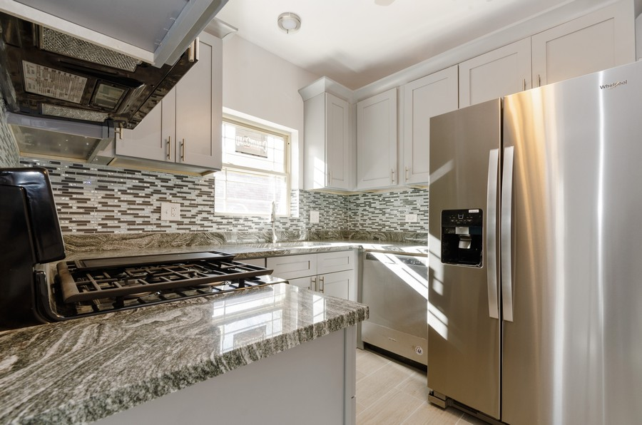 Real Estate Photography - 8223 S Chappel Ave, Chicago, IL, 60617 - Kitchen