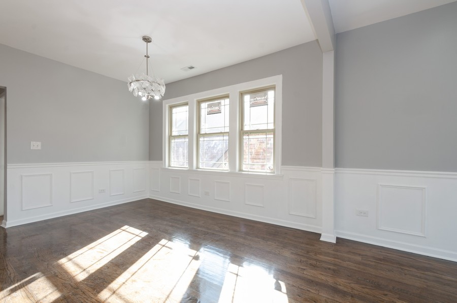 Real Estate Photography - 8223 S Chappel Ave, Chicago, IL, 60617 - Dining Room