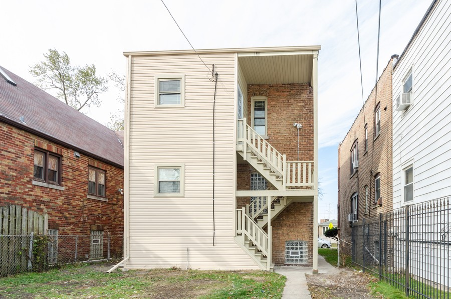 Real Estate Photography - 8223 S Chappel Ave, Chicago, IL, 60617 - Rear View